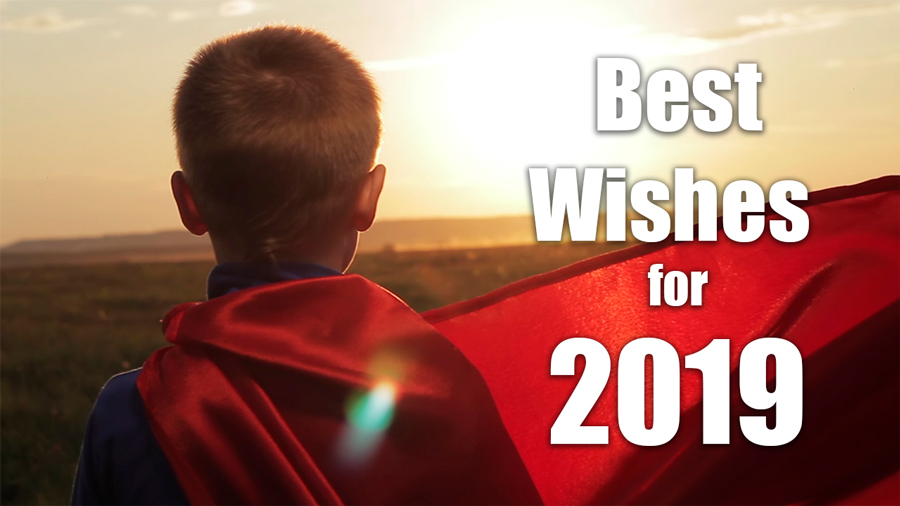 Best wishes for 2019 !